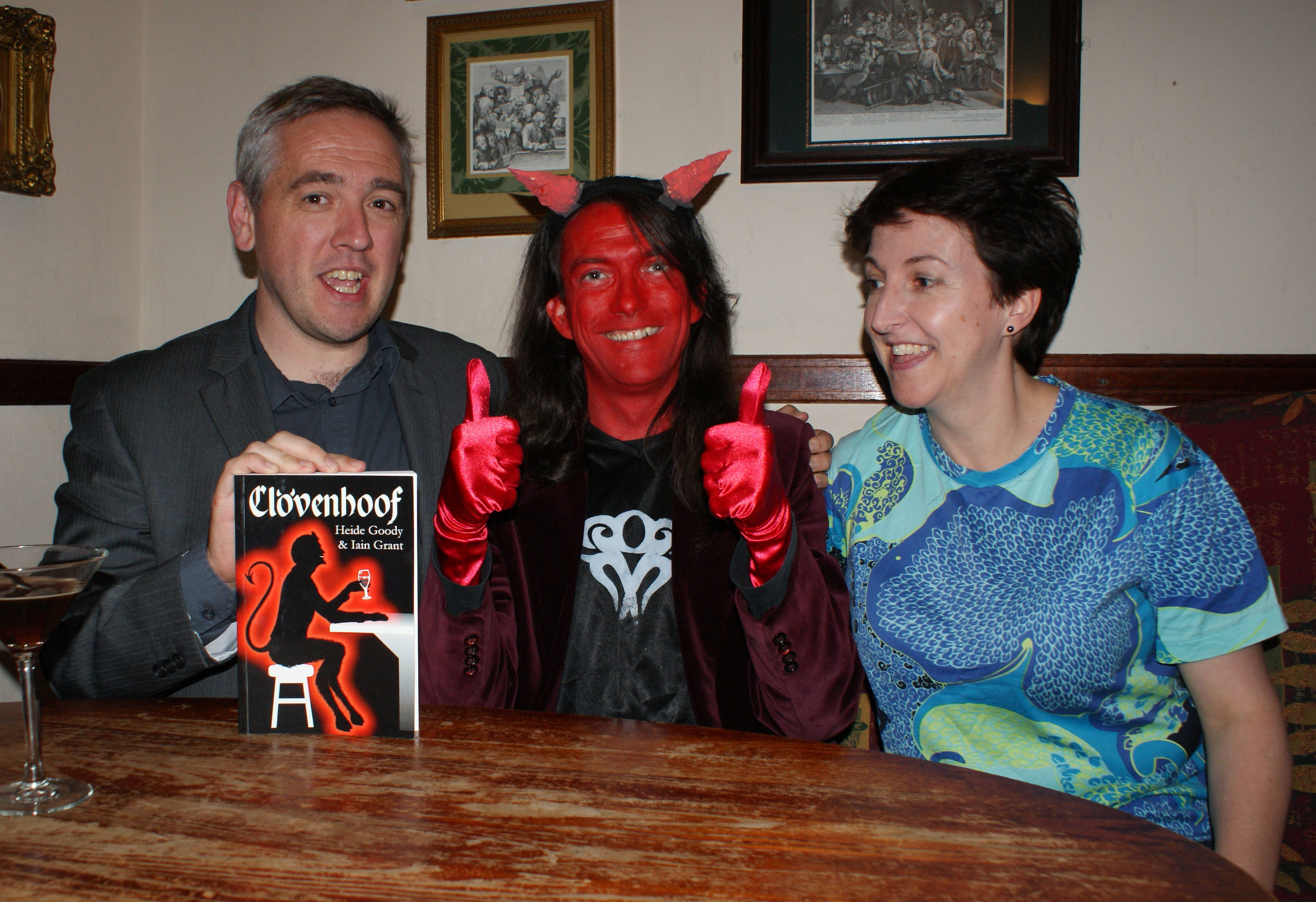 Heide Goody & Iain Grant with Satan