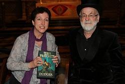 Heide Goody and Terry Pratchett
