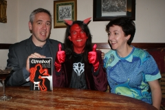 Heide Goody & Iain Grant with Satan