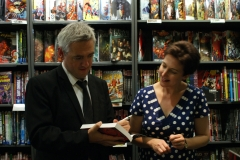 Heide Goody and Iain Grant at Waterstones New Street