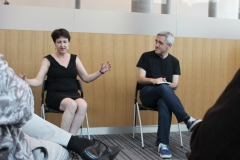 Heide Goody and Iain Grant at Library of Birmingham